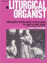 The Liturgical Organist, Volume 4 sheet music