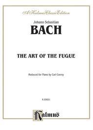 The Art of the Fugue sheet music