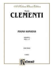 Piano Sonatas, Volume 1