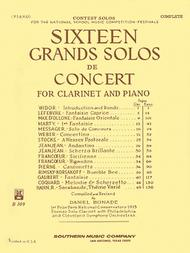 Sheet Music 16 Grand Solos de Concert Song Lyrics Guitar Tabs Piano Music Notes Songbook