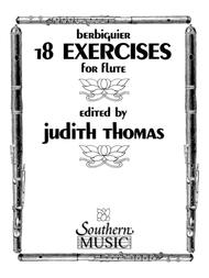 Benoit-Tranquille Berbiguier  Sheet Music 18 Exercises Song Lyrics Guitar Tabs Piano Music Notes Songbook