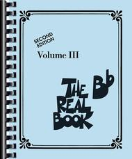 The Real Book - Volume 3 sheet music