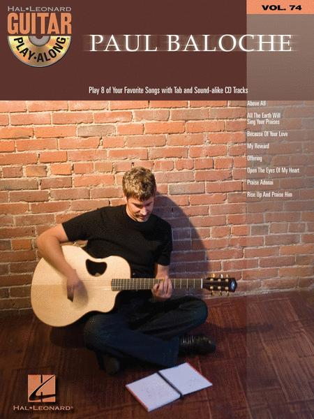 paul baloche guitar play along volume 74 hal leonard guitar play along