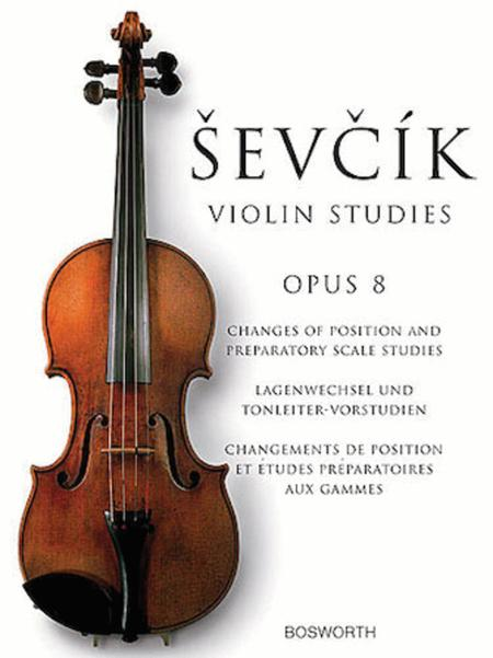 Otakar Sevcik: Studies For Violin Op. 8