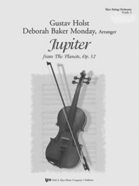 sheet music jupiter score string orchestra. Black Bedroom Furniture Sets. Home Design Ideas