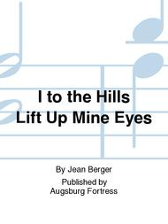 I to the Hills Lift Up Mine Eyes sheet music