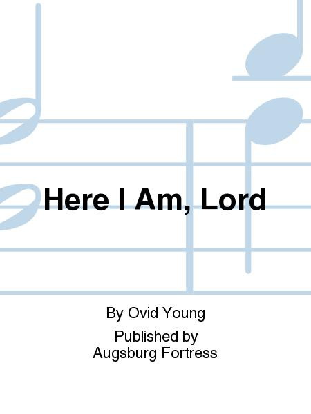 Sheet music: Here I Am, Lord (SATB)