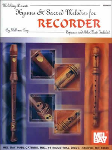 Hymns and Sacred Melodies for Recorder