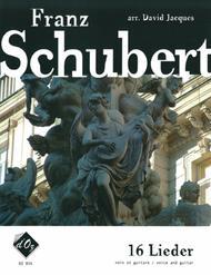 Franz Schubert  Sheet Music 16 Lieder Song Lyrics Guitar Tabs Piano Music Notes Songbook
