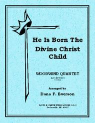 He Is Born, the Divine Christ Child sheet music
