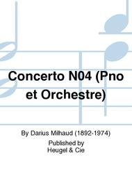Concerto No.4 (Pno et Orchestre) sheet music
