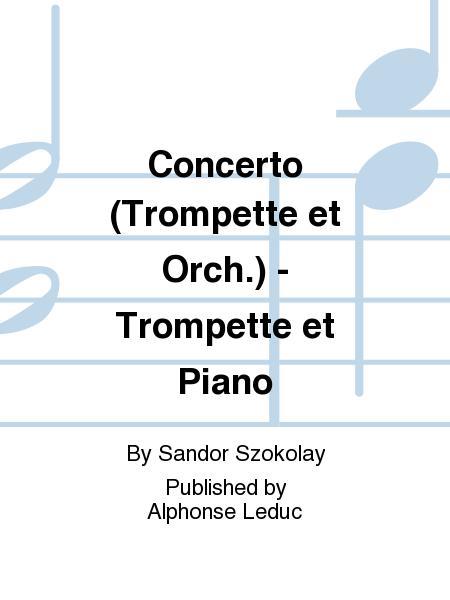 Partitions concerto trompette et orch trompette et for Yamaha casanova piano