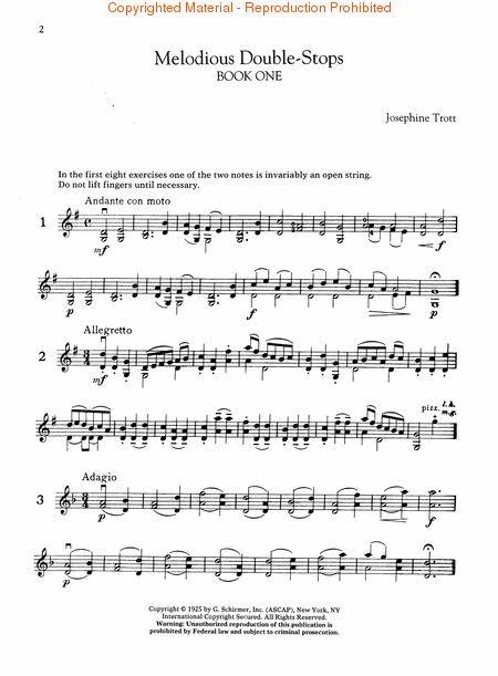Melodious Double-Stops Complete (Violin) sheet music