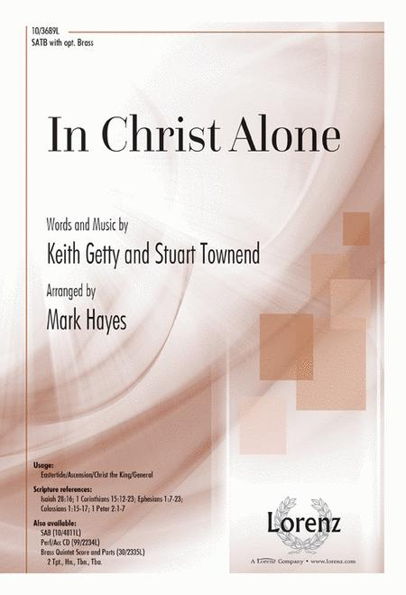 in christ alone sheet music pdf free