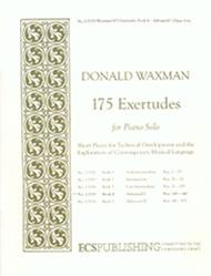 Donald Waxman  Sheet Music 175 Exertudes, Book 4: Advanced I Song Lyrics Guitar Tabs Piano Music Notes Songbook