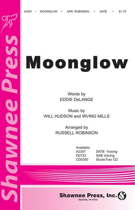 Sheet music: Moonglow (SATB, Piano)