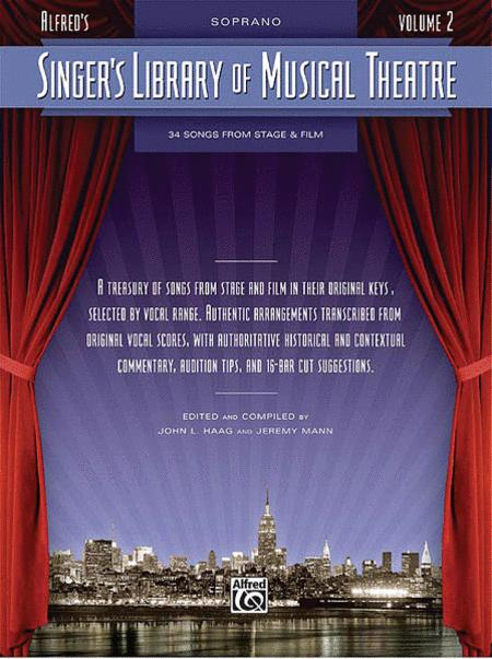 Singers Musical Theatre Baritone Bass Sing Vocal Piano SHEET Music Book 1