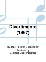 Divertimento (1967) sheet music