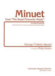 Minuet From The Royal Fireworks Music