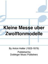 Kleine Messe uber Zwolftonmodelle sheet music