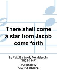 There Shall a Star from Jacob Come Forth sheet music