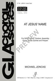 At Jesus' Name sheet music