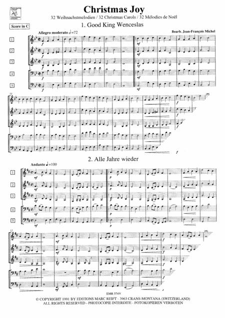 Christmas Joy - Score sheet music