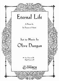 Eternal Life sheet music