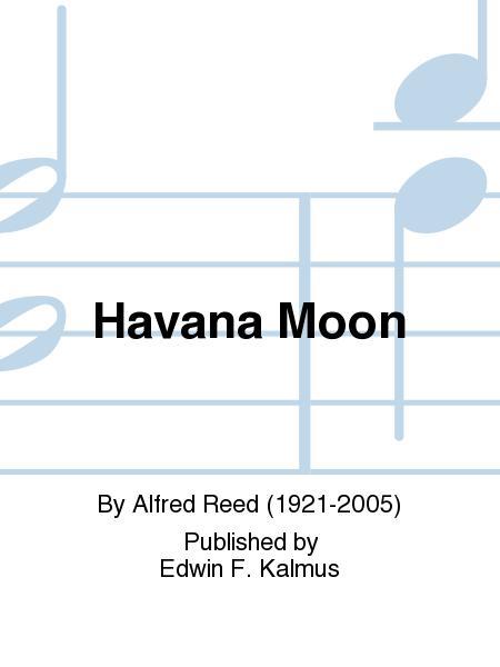 Sheet music: Havana Moon