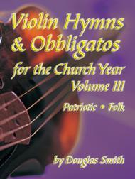 Violin Hymns and Obbligatos, Vol. 3