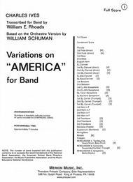 Variations On 'America'-Full Score