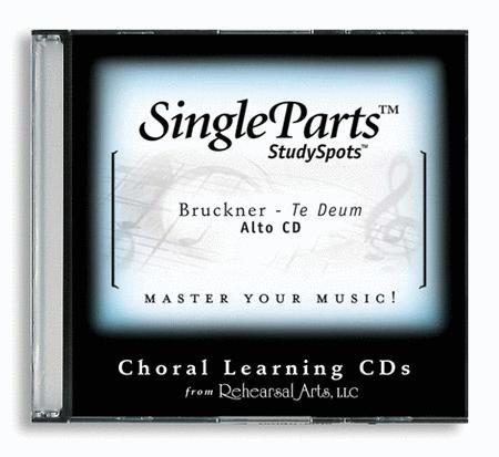 Sheet music: Te Deum (CD only - no sheet music) (Choir, Alto