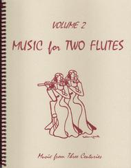 Music for Two Flutes, Volume 2 sheet music