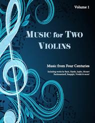Music for Two Violins, Volume 1