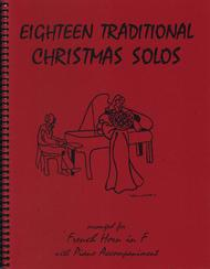 Various  Sheet Music 18 Traditional Christmas Solos for French Horn Song Lyrics Guitar Tabs Piano Music Notes Songbook