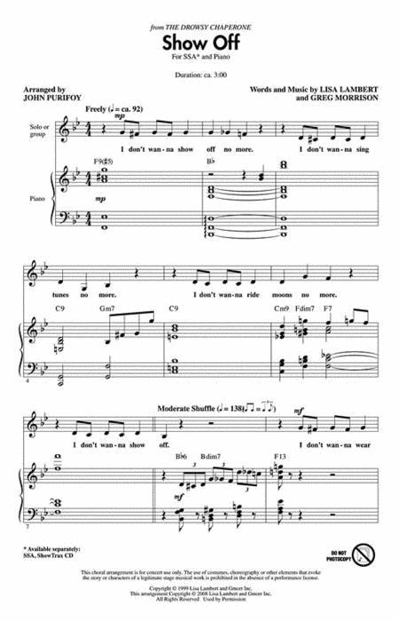 Buy CHORAL - VOCAL - CHOIR scores, sheet music : MUSICALS