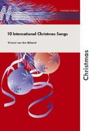 Vincent van den Bijlaard  Sheet Music 10 International Christmas Songs Song Lyrics Guitar Tabs Piano Music Notes Songbook