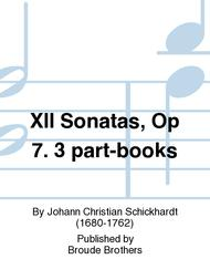 Sheet Music 12 Sonates a 2 haubois ou violons & basse continue, 7me Oeuvr. PF 253 Song Lyrics Guitar Tabs Piano Music Notes Songbook