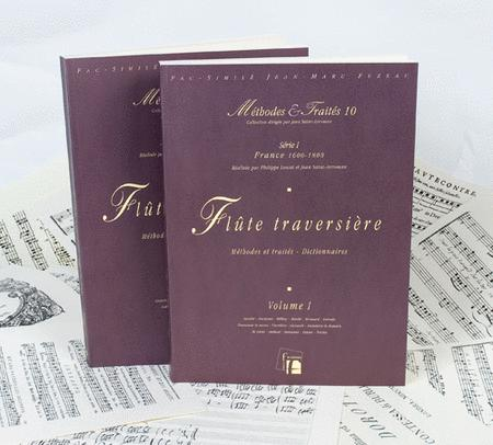 Methods & Treatises Flute - 2 Volumes - France 1600-1800