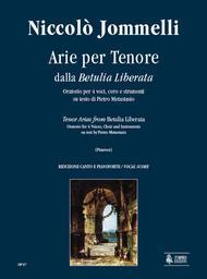 Betulia Liberata. Arias for Tenor