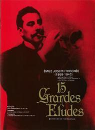 Emile Joseph Trognee  Sheet Music 15 Grandes Etudes Song Lyrics Guitar Tabs Piano Music Notes Songbook