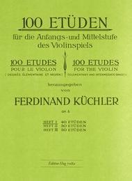 Ferdinand Kuchler  Sheet Music 100 Etuden Vol 1 Song Lyrics Guitar Tabs Piano Music Notes Songbook