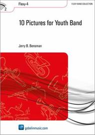 Jerry B. Bensman  Sheet Music 10 Pictures for Youth Band Song Lyrics Guitar Tabs Piano Music Notes Songbook
