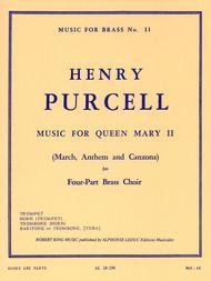 Music For Queen Mary 2 - Brass Quartet sheet music