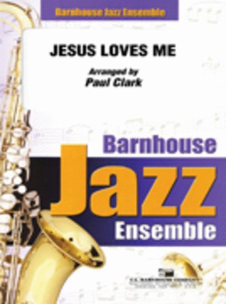 Sheet music: Jesus Loves Me (Jazz Ensemble)