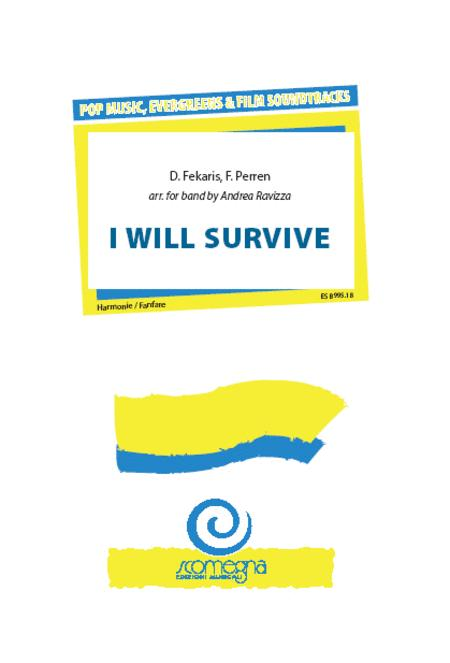 Sheet Music I Will Survive Concert Band
