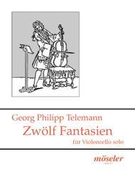 Georg Philipp Telemann  Sheet Music 12 Fantasien TWV 40:14-25 Song Lyrics Guitar Tabs Piano Music Notes Songbook