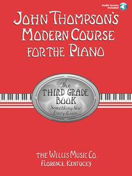 John Thompson's Modern Course for the Piano - Third Grade (Book/Audio) sheet music