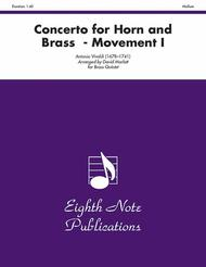 Concerto for Horn and Brass (Movement I)