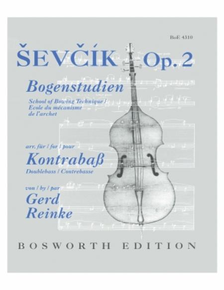Sheet music: Sevcik School of Bowing Technique, Op  2